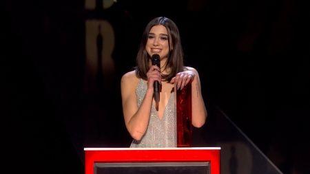Dua Lipa wins big during The BRIT Awards 2018