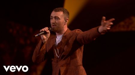 Sam Smith delivers moving performance of 'Too Good at Goodbyes' during BRIT Awards 2018