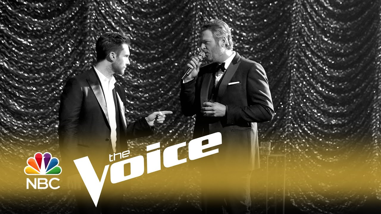 Adam Levine and Blake Shelton bring Rat Pack swagger and cool to promo for 'The Voice'
