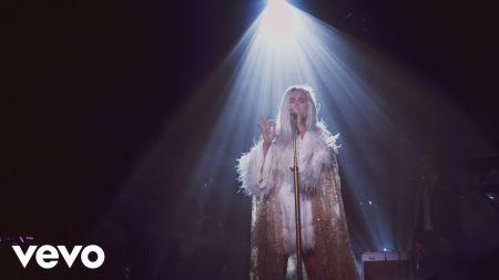 Kesha shares a pair of live videos following tour postponement