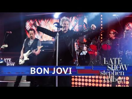 Watch: Bon Jovi perform live debut of 'When We Were Us' on 'The Late Show'