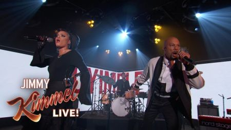 Watch Andra Day and Common perform soulful 'Stand Up for Something' on Kimmel