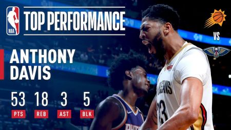 New Orleans Pelicans star Anthony Davis playing like MVP