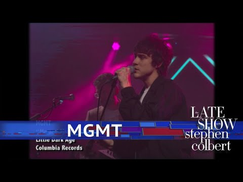 Watch Mgmt Perform Me And Michael Electric Feel On Colbert