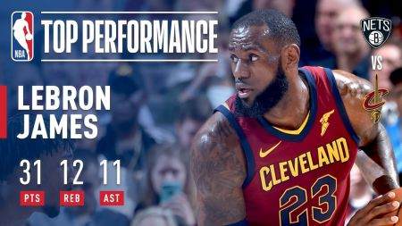 LeBron James reaches milestone in Cleveland Cavaliers win