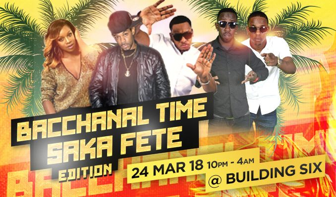 Bacchanal Time Saka Fete Edition tickets at Building Six in London