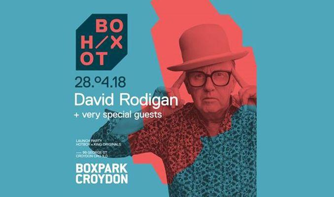 David Rodigan tickets at Boxpark Croydon in Croydon