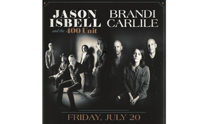 Jason Isbell and the 400 Unit and Brandi Carlile tickets at Constellation Brands Marvin Sands Performing Arts Center - CMAC in Rochester