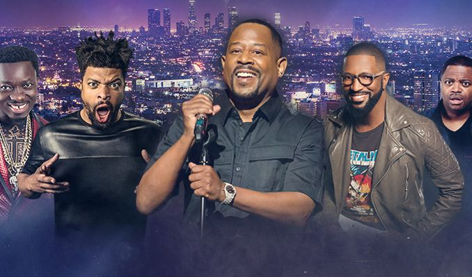 LIT AF TOUR Hosted by Martin Lawrence with... tickets at Barclays Center in Brooklyn
