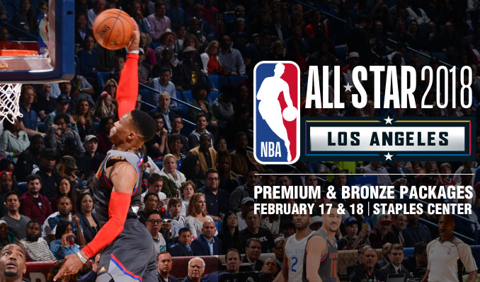 NBA All-Star 2018 Packages tickets at STAPLES Center in Los Angeles