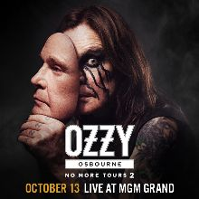 Ozzy Osbourne: No More Tours 2 tickets at MGM Grand Garden Arena in Las Vegas