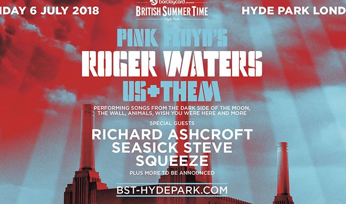 Roger Waters tickets at Hyde Park in London