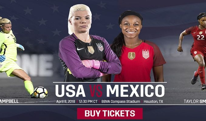 U.S. Women's National Team vs. Mexico tickets at BBVA Compass Stadium in Houston