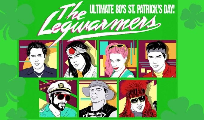 The Legwarmers: Ultimate 80's St. Patrick's Day tickets at Rams Head Live! in Baltimore