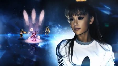 Ariana Grande slays world of 'Final Fantasy Brave Exvius' with 'Touch It' remix