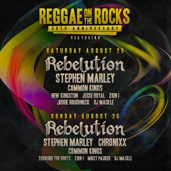 Thumbnail for 30 YEARS OF REGGAE ON THE ROCKS