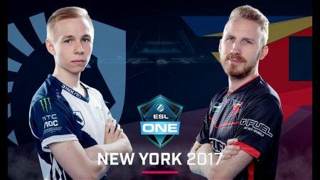 FaZe Clan defeat Team Liquid for ESL One New York 2017 championship win