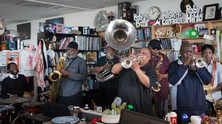 JAS Summer Cafe series announces lineup including Dirty Dozen Brass Band, Christian Mcbride and more