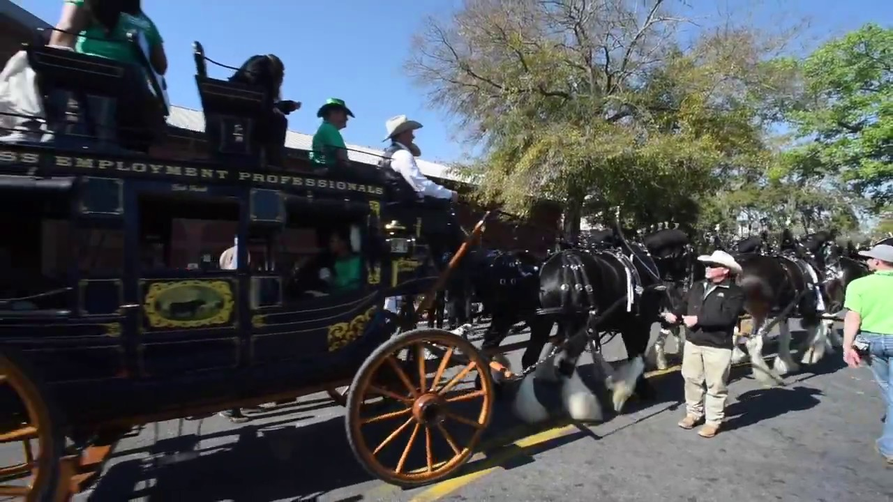 Free family-friendly events in Savannah for St. Patrick's Day 2018