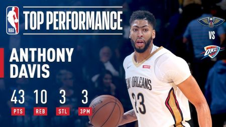 LeBron James, Anthony Davis named NBA Players of the Month