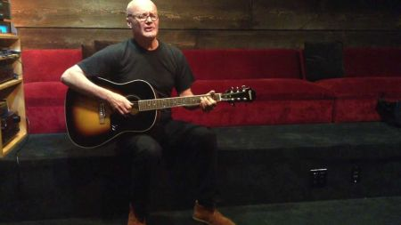 Creed Bratton trades in a desk for a guitar to release new solo material