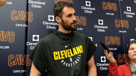 Cleveland Cavaliers hoping for Kevin Love's early return