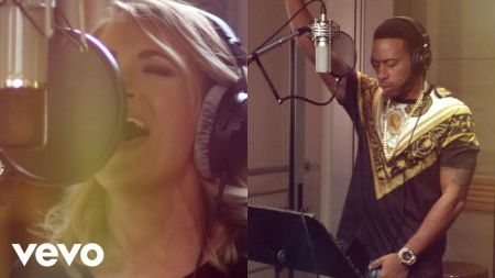 Carrie Underwood and Ludacris share sports-themed video for 'The Champion'