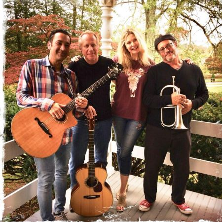 <p>FLOW is a New Age music group made up of Will Ackerman, Fiona Joy, Lawrence Blatt and Jeff Oster. Their debut album is out now.</p>