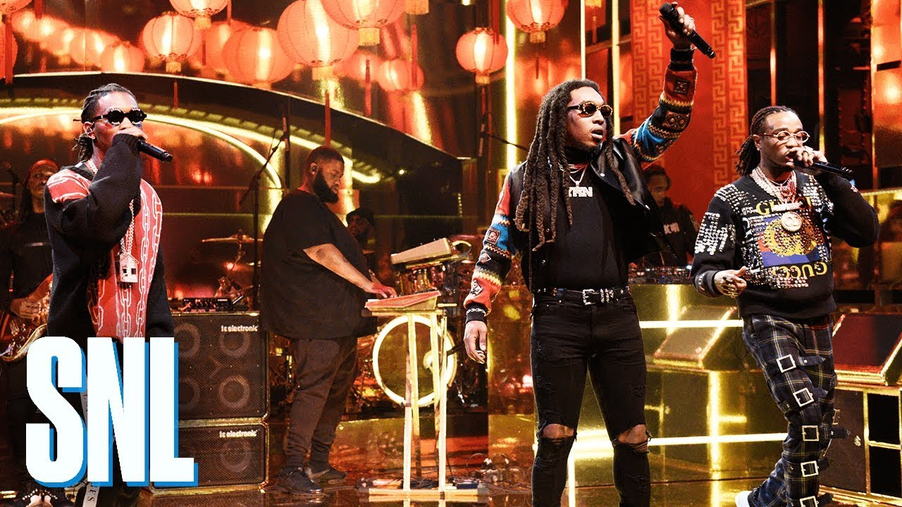 Watch: Migos brings the trap sound to television with second performance on 'SNL'