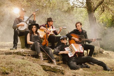 <p>J.D. & The Straight Shot open for The Eagles on tour this Spring.</p>