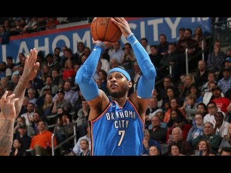 Carmelo Anthony passes Jerry West on NBA's all-time scoring list