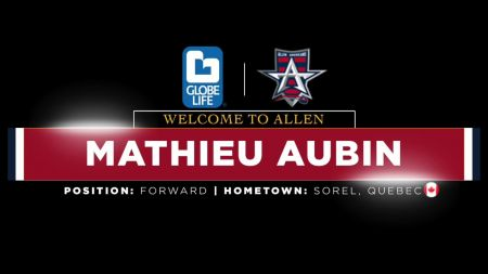 Atlanta Gladiators acquire Mathieu Aubin from Allen Americans