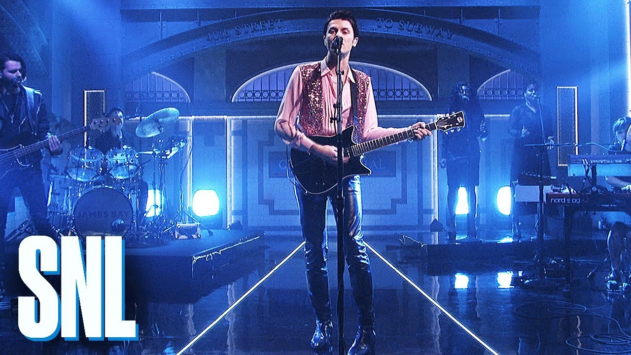 Watch: James Bay rocks new songs 'Wild Love' and 'Pink Lemonade' on SNL debut