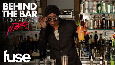 Watch: Nick Cannon mixes things up 'Behind the Bar'