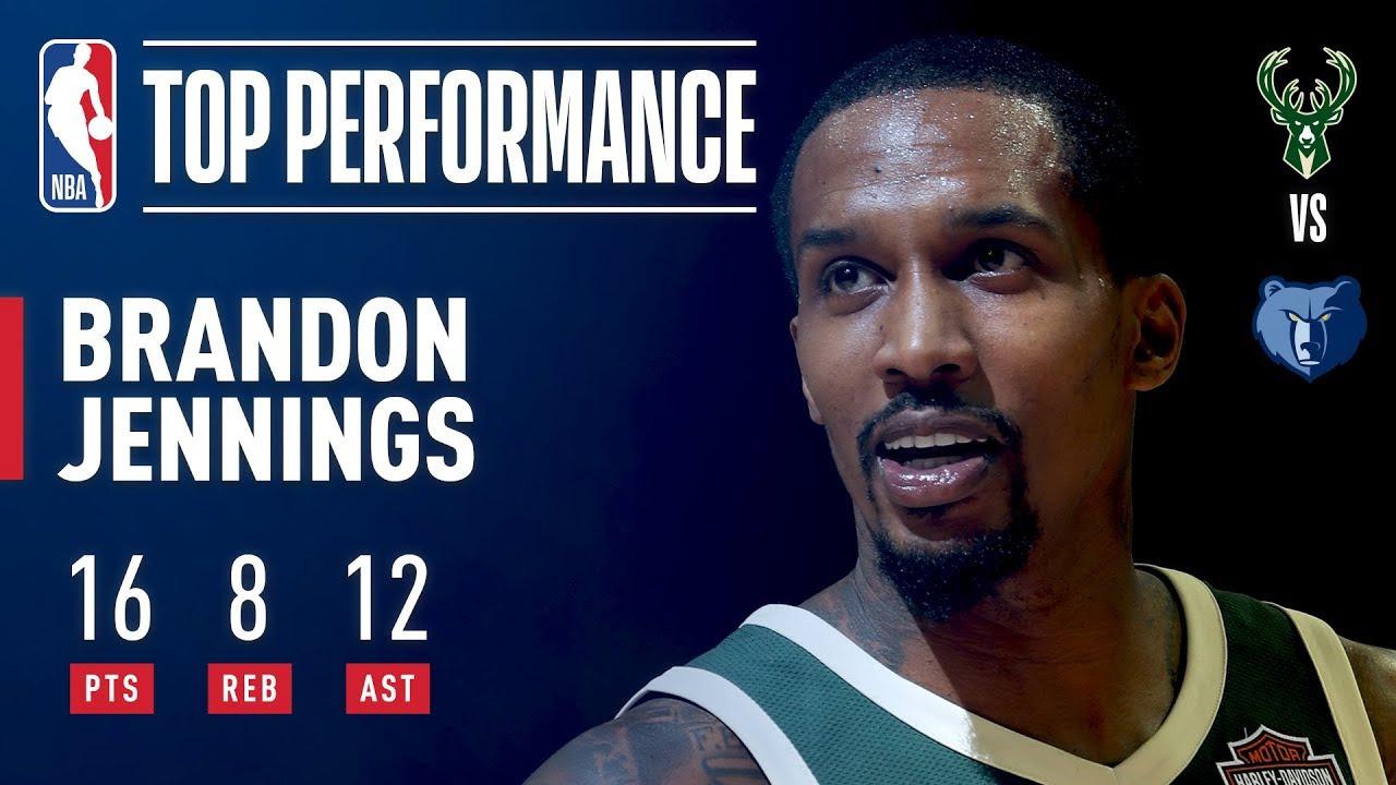 Brandon Jennings enjoys triumphant return to NBA