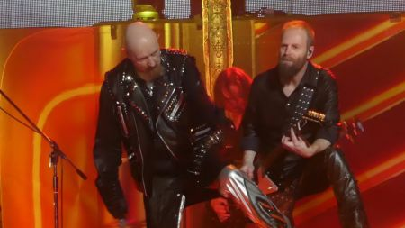 Watch: Judas Priest perform live debut of 'Saints in Hell' at 2018 North America tour launch