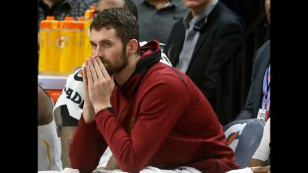 Kevin Love set to return for Cleveland Cavaliers
