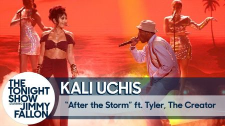 Watch: Kali Uchis performs 'After the Storm' on 'Fallon' with Tyler, the Creator