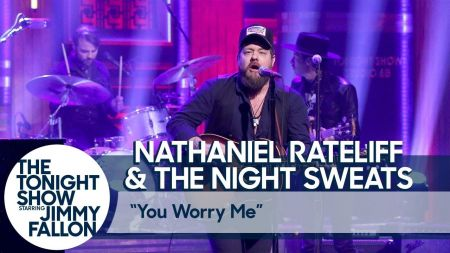 Watch: Nathaniel Rateliff & The Night Sweats rock 'You Worry Me' on 'Fallon'