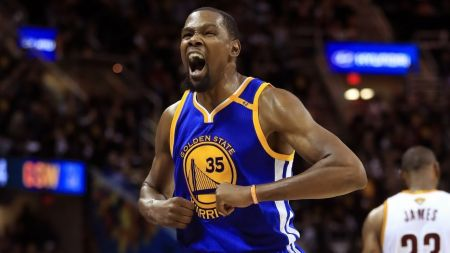 Kevin Durant added to Golden State Warriors' injury list