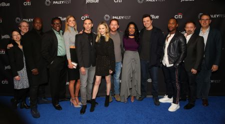 HOLLYWOOD, CA - MARCH 17: Cast and creatives of 'The Orville' attend PaleyFest LA 2018 honoring 'The Orville,' presented by The Paley Center