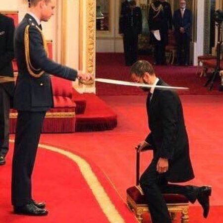 Ringo Starr knighted.