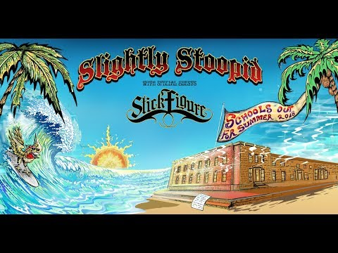 Slightly Stoopid announce 2018 summer tour with Stick Figure and Pepper