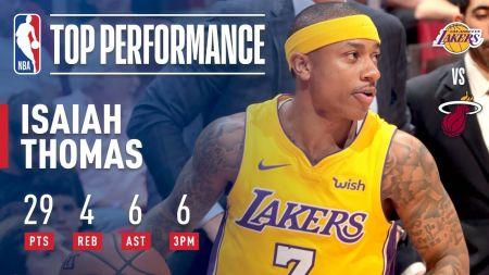 Isaiah Thomas could return to Los Angeles Lakers next season