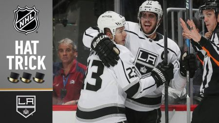 Kopitar has career night in Kings win over Avalanche