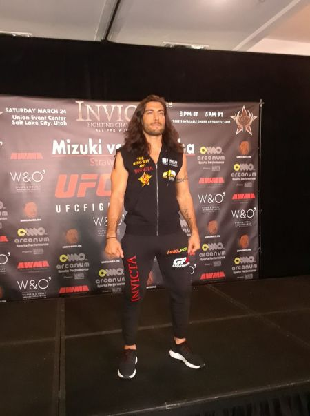 Elias Theodorou impressed in his Invicta FC debut