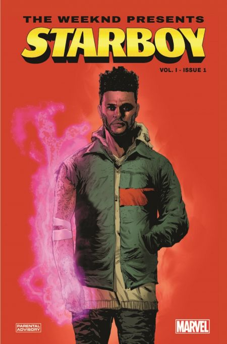 Details for The Weeknd's Marvel Comics series announced
