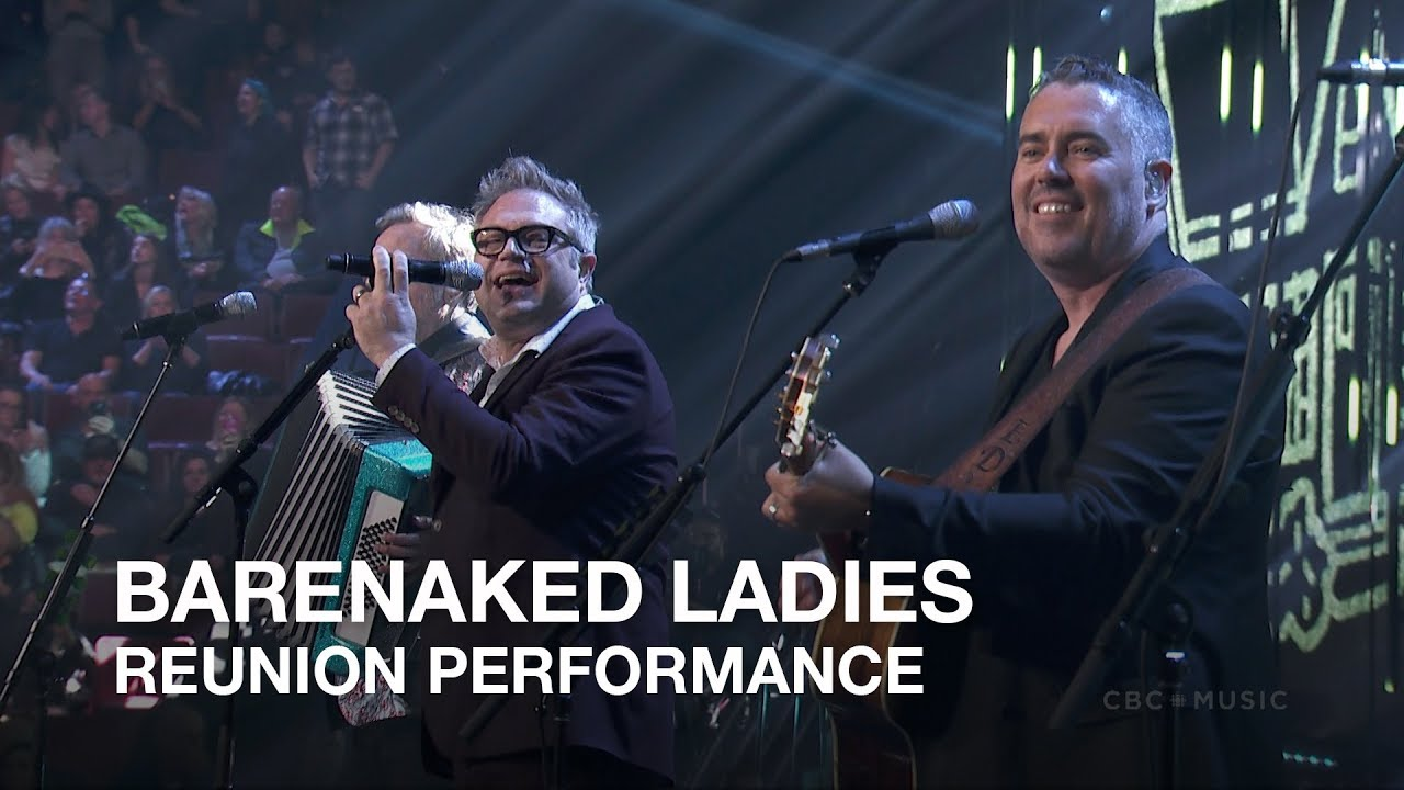 Watch: Barenaked Ladies reunite with Steven Page to play 'One Week' at  2018 Juno Awards