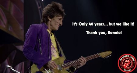 Rolling Stones guitarist Ronnie Wood is cancer free