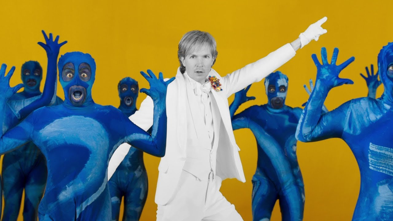 Beck and Alison Brie see 'Colors' in vibrant Edgar Wright directed video